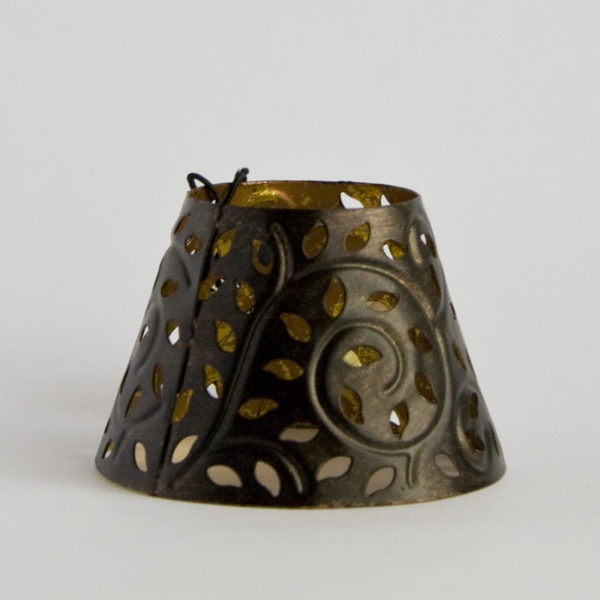 Paralume Candela Piccola WoodWick in ferro