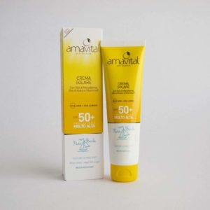 Crema Solare Bimbi Amavital SPF 50+