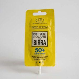 Protezione Solare alla Birra 50+