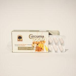 Curcuma Gold - Integratore Alimentare a Base di Curcuma - Linea Integratori Alimentari Erboristeria Frate Vento | Erboristeria Frate Vento