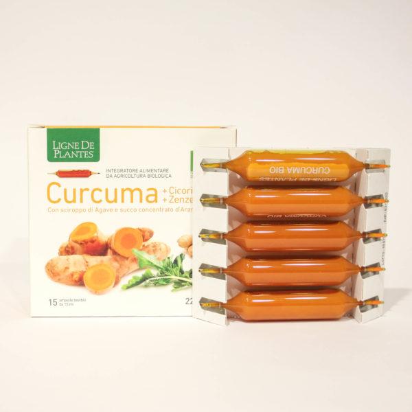 Curcuma - Integratore Alimentare con Cicoria e Zenzero - Linea Ligne De Plantes Natura Service srl | Erboristeria Frate Vento