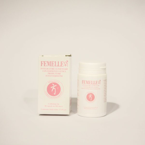Femmelle Integratore alimentare con Fermenti lattici- Linea Bromatech | Erboristeria Frate Vento