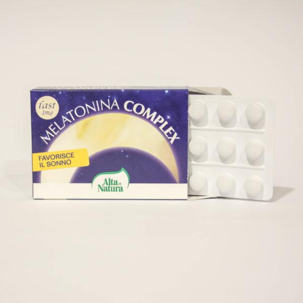 Melatonina Complex - migliora la Qualità del Sonno - Linea Alta Natura| Erboristeria Frate Vento