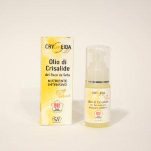 Olio di Crisalide di Baco da Seta - Linea Cryseida| Erboristeria Frate Vento