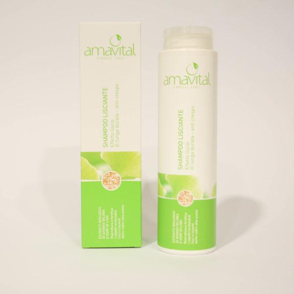 Shampoo lisciante