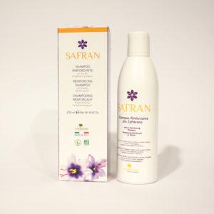 Shampoo Rinforzante - Linea Safran | Erboristeria Frate Vento
