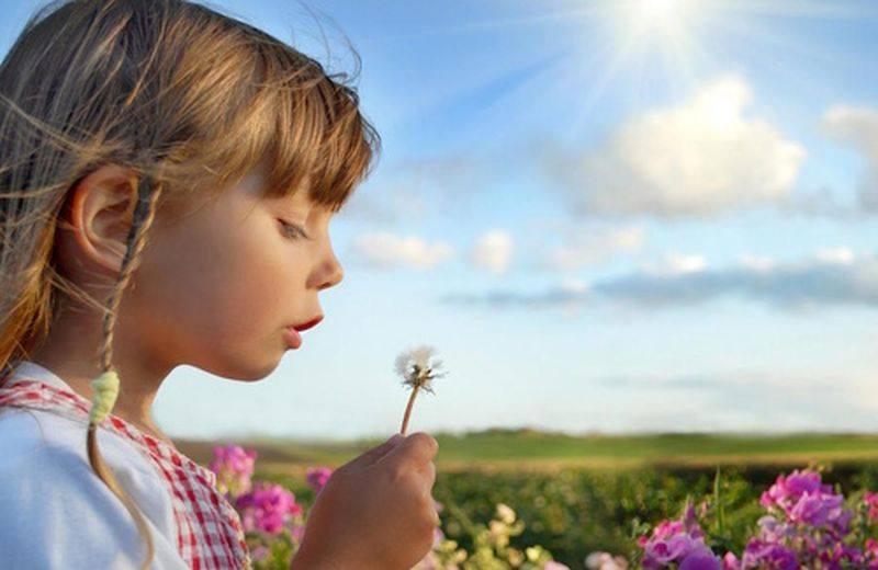 i fiori di bach nell'infanzia