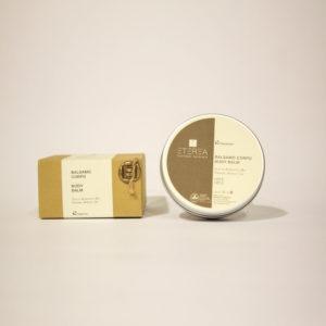 Balsamo Corpo con Olio di Albicocca bio e vitamine - Etyerea Cosmesi Naturale | Erboristeria Frate Vento