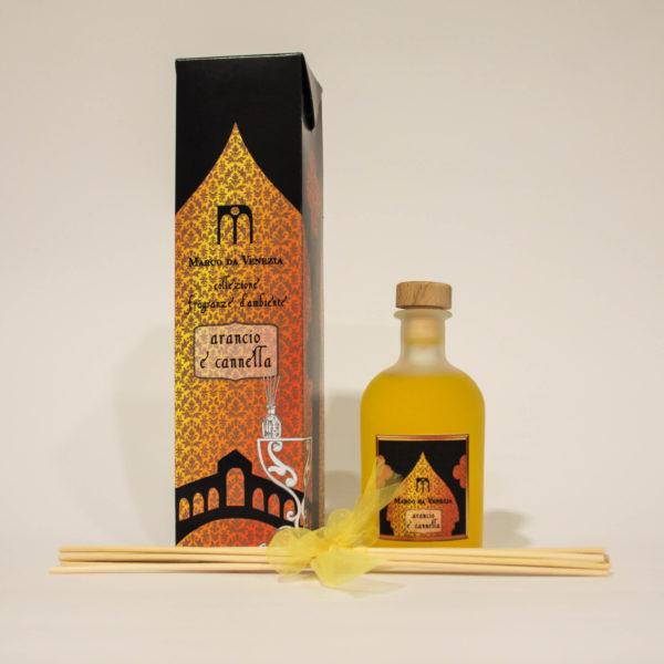 Fragranze d'Ambiente con Arancio e Cannella per Energia - Marco da Venezia Eau de Parfum | Erboristeria Frate Vento