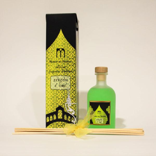 Fragranze d'Ambiente con Zenzero e Lime per Energia - Marco da Venezia Eau de Parfum | Erboristeria Frate Vento