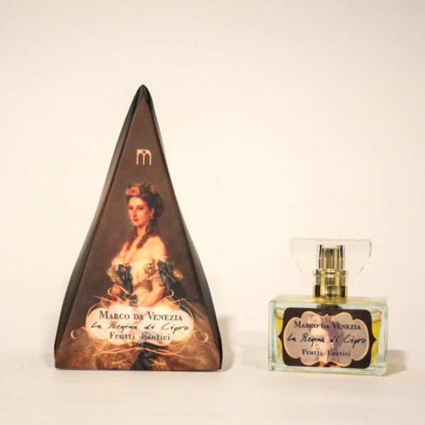 La Regina di Cipro Profumo Donna a base di Frutti esotici - Marco da Venezia Eau de Parfum | Erboristeria Frate Vento