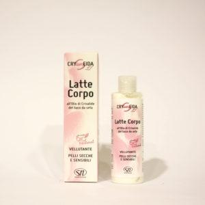 Latte Corpo Vellutante con Olio di Crisalide del Baco da Seta - Linea Cryseida | Erboristeria Frate Vento