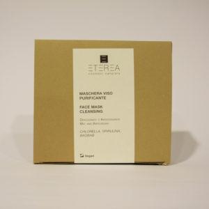 Maschera Viso purificante con Chlorella, Spirulina e Baobab - Eterea Cosmesi naturale | Erboristeria Frate Vento