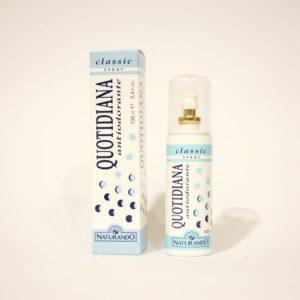 Quotidiana Antiodorante Classic, Spray Pelli normali - Naturando | Erboristeria Frate Vento