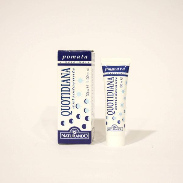 Quotidiana Antiodorante Pomata, Azione Rinfrescante - Naturando | Erboristeria Frate Vento