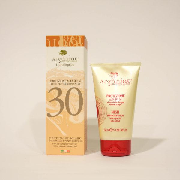 Solare Protezione Alta 30 con Olio di Argan biologico - Arganiae | Erboristeria Frate Vento