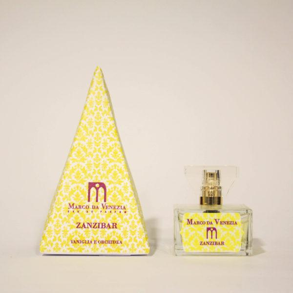 Zanzibar Profumo Donna con Vaniglia e Orchidea - Marco da Venezia Eau de Parfum | Erboristeria Frate Vento