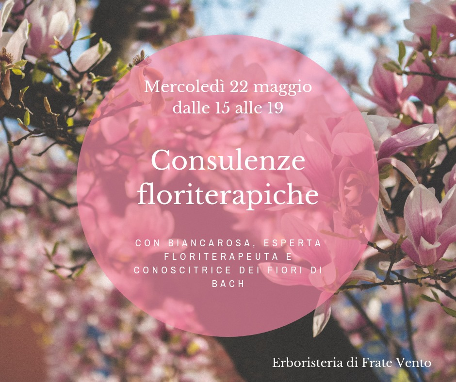 Consulenze Floriterapiche
