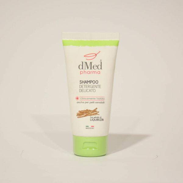 Shampoo Detergente delicato, Lavaggi frequenti, con Estratto di Liquirizia - dMed pharma | Erboristeria Frate Vento