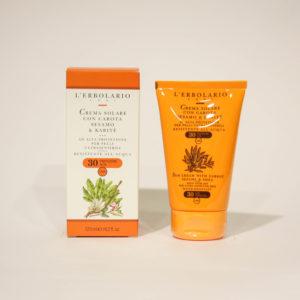 Crema solare, Protezione alta - L'Erbolario | Erboristeria Frate Vento