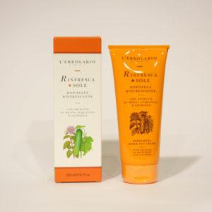 Rinfresca Sole, Doposole rinfrescante - L'Erbolario | Erboristeria Frate Vento